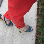 Outfit: My Adventure in Orange Pants!