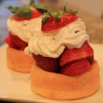 Dessert in 5: Strawberry Shortcake, with a Hat on Top