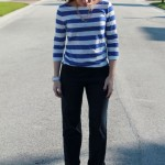 Outfit: Stripes and Sparkles