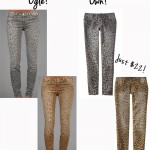 Ogle or Own: Leopard Skinnies