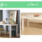 Ogle or Own: White Lacquer Desk