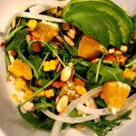 Arugula, Avocado, Orange Salad