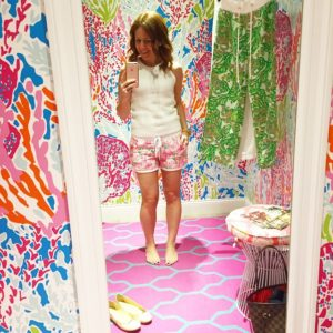 award for most fun and colorful fitting room goes to…