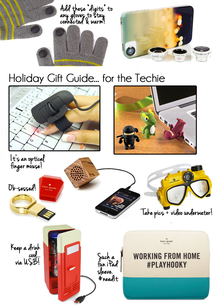 Best Gifts for a Techie 2012
