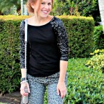 Outfit: Leopard and Sparkle