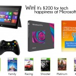 Giveaway: $200 to Microsoft — CLOSED