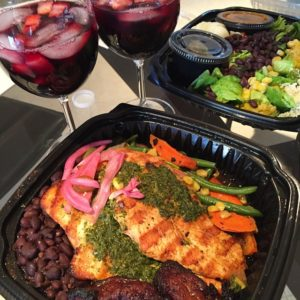 yummy Mexican takeout + sangria is a logical Memorial Day…
