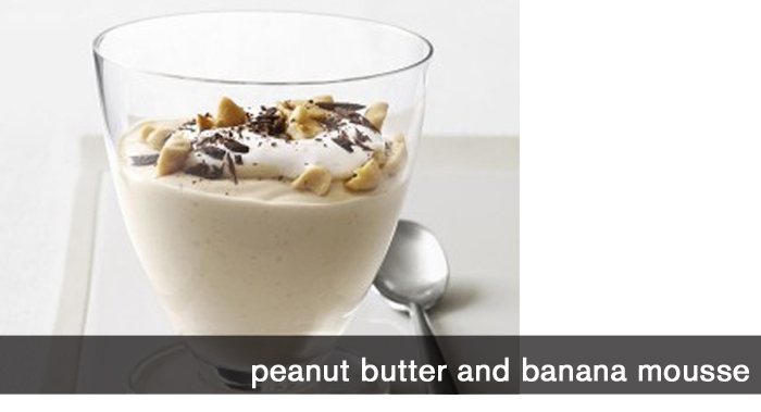Peanut Butter and Banana Mousse
