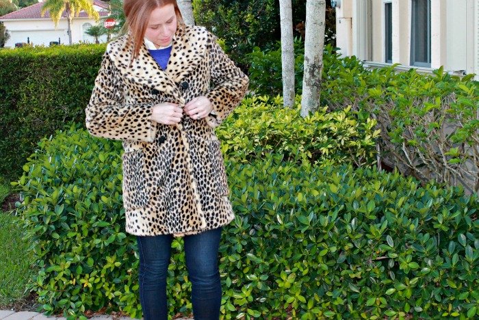 How to Wear a Leopard Coat