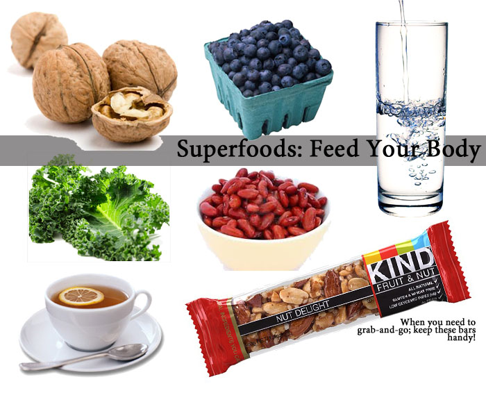 Superfoods || The Average Girl's Guide