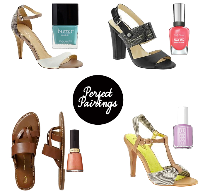 SPring Shoe Polish Pairings