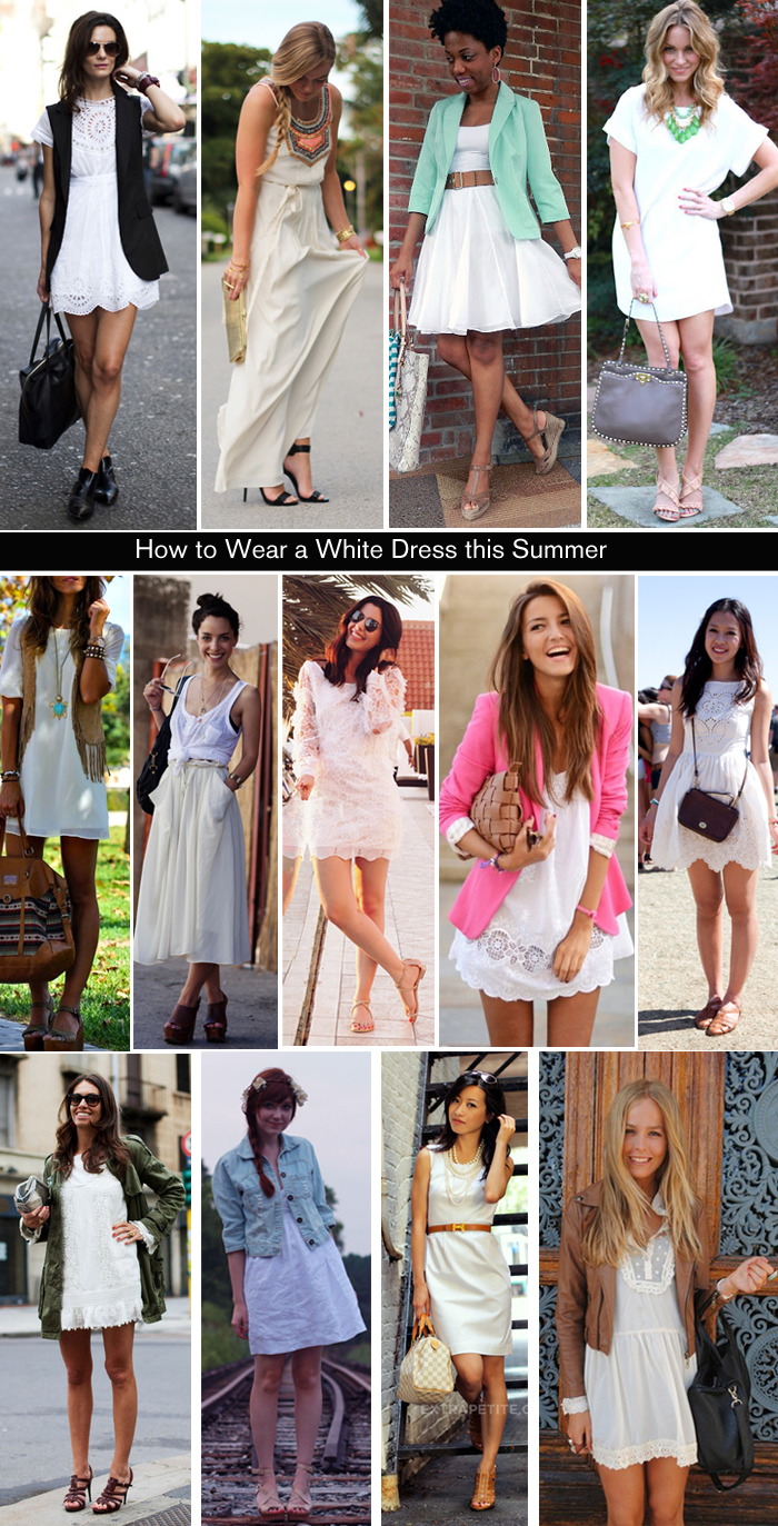 Outfit White Dress How to Wear a White Dress