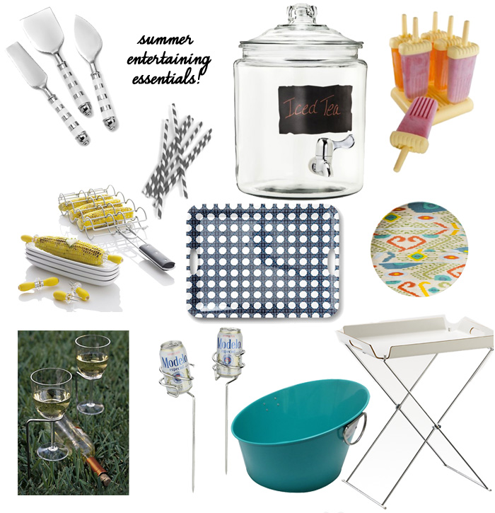 Summer entertaining essentials 2013