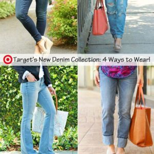 New styling 4 pairs of jeans from targetstyle revamped denimhellip