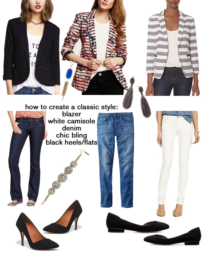 How to create a classic yet chic look