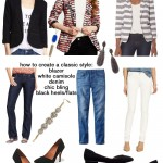 how to create a classic outfit