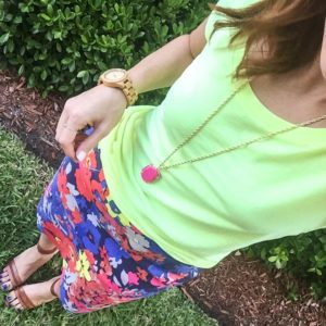 summer brights! #taggstyle