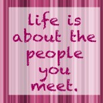 wednesday words: people you meet