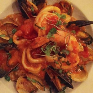 yum! frutti di mare at a fun new(ish) spot in…