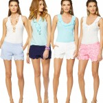 summer find: scalloped shorts