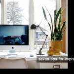 seven tips for an impressive desk space