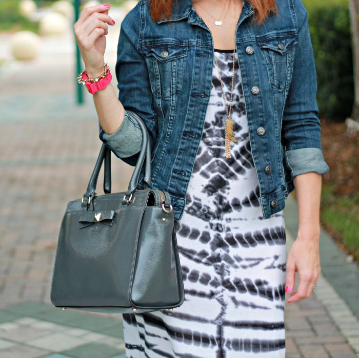 tie dye dress // three ways to wear