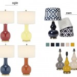 ogle or own: gourd table lamp