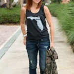 outfit: florida girl does denim