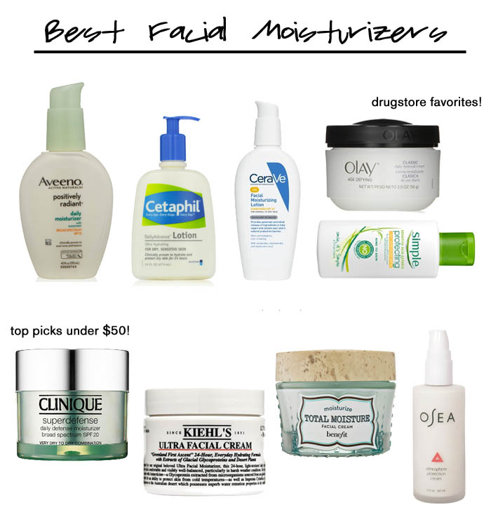 best face moisturizers - Best Facial Moisturizers by popular Florida beauty blogger The Modern Savvy