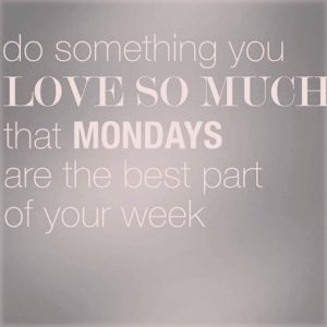 yes! (well, maybe once your coffee sinks in!). #happymonday#quotes