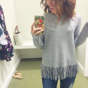 Prepping at bloomingdales thegardensmall amp drooling over this cashmere fringe!hellip