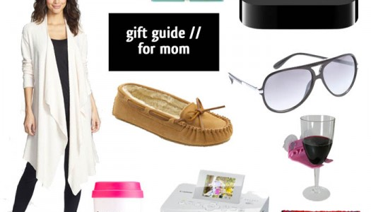 gift guide #3 // for mom