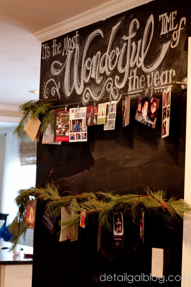 10 new, creative ways to display your holiday cards