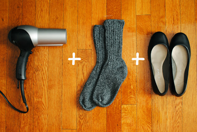 stretch out your shoes & more shoe hacks