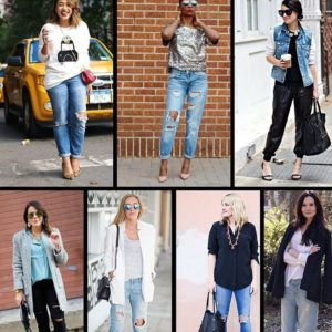 Catch this weeks post how to dress up distressed denim?hellip