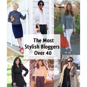 now on TAGG: 16 stylish bloggers over 40!