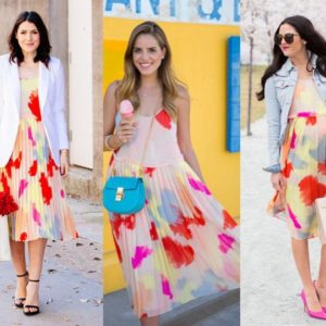 3 fun ways to style one fab dress, today on…