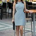 banana republic dress // the average girl's guide