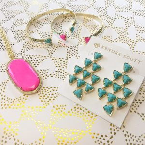 spring color pop! Convinced @kendrascott makes every outfit better.
