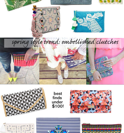 Fun, Affordable Printed Clutches