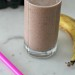 Chocolate, Almond Butter, Banana Protein Smoothie
