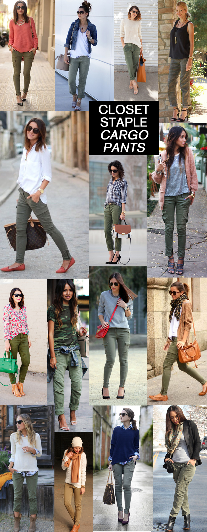 stylish ways to wear army green cargo pants - How to Wear Cargo Pants for Women by popular Florida style blogger The Modern Savvy