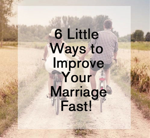 Easy Tips to Improve Your Marriage