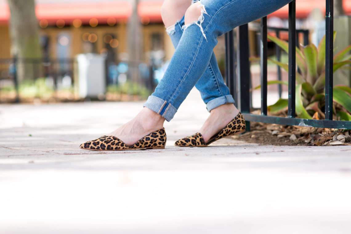 | Cute leopard shoes featured by popular Florida style blogger, The Modern Savvy