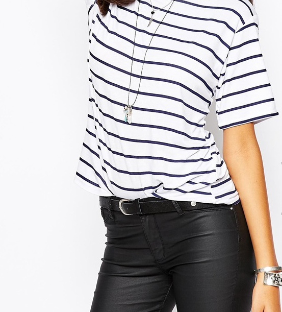 ASOS Striped Tee for $17.50!