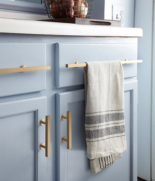 home trend: brass hardware