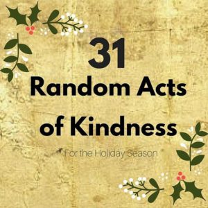 Dont miss todays post 31 easy small acts of kindnesshellip