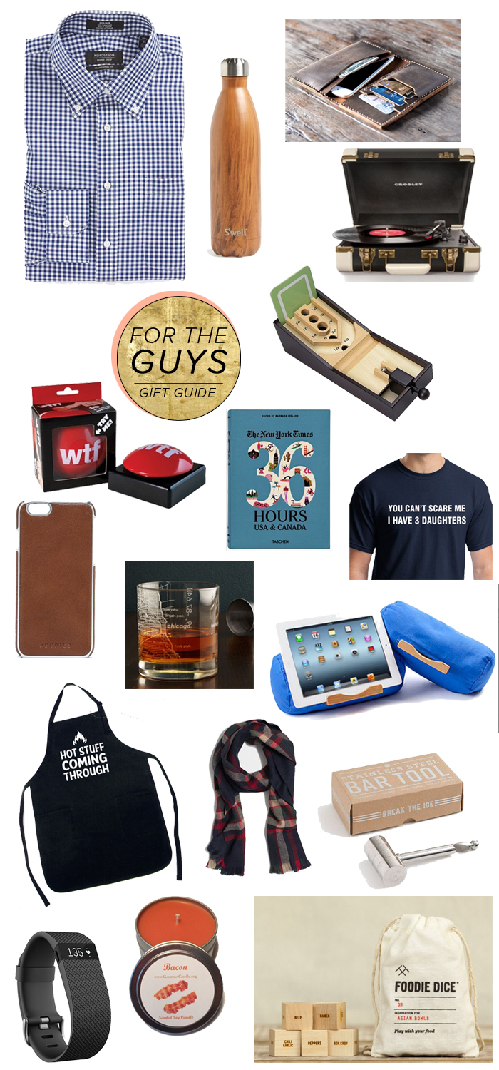 Best GIfts for the Guys 2015