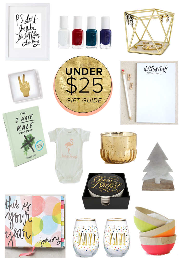 Gift Guide Best Under 25 The Average Girl 39 S Guide