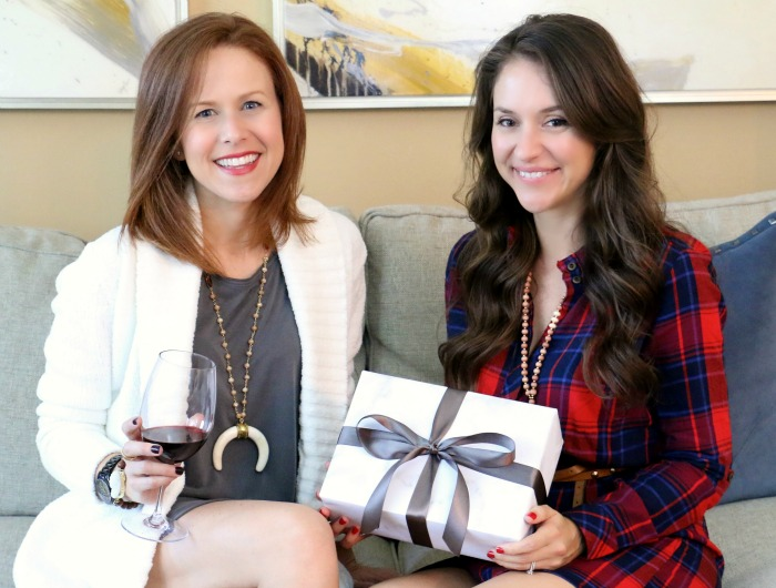Gift Wrapping Girls Night In with Allie of Alexandra Gioia